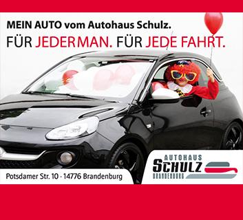 Autohaus Schulz Plakat