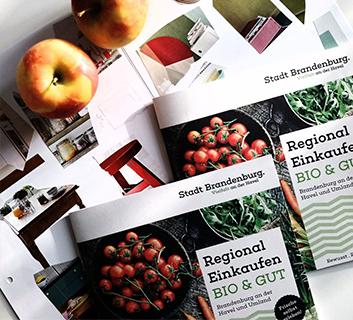Broschüre Regional Einkaufen